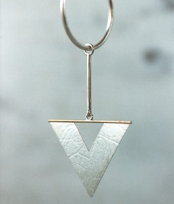 Ohrring (Silber, Gold)